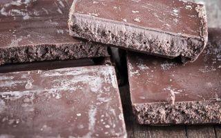 Белый налет на шоколаде: что это такое?