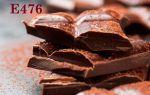 Эмульгатор E476 в шоколаде и его влияние на организм