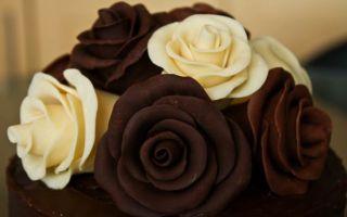 Шоколадные розы своими руками: пошаговая инструкция
