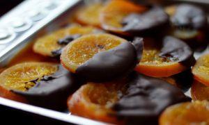 Все об апельсинах в шоколаде (домашние рецепты с фото)