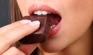 Сколько калорий в одной шоколадной конфете?