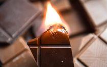 Должен ли гореть настоящий шоколад?