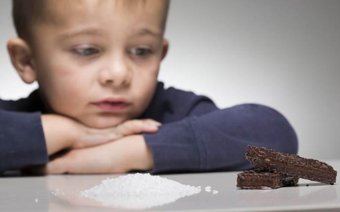 Содержание сахара в шоколадных дольках