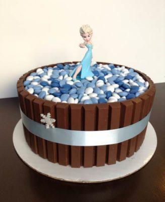 Украсить торт скитлс фото