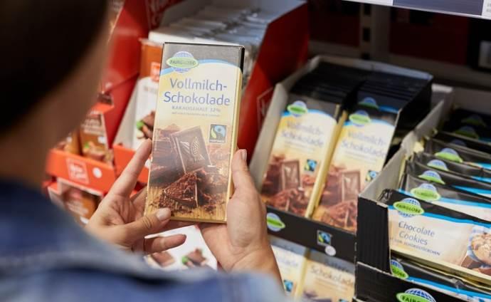 Немецкая шоколадная плитка