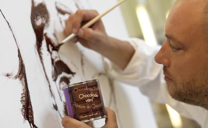 Живопись шоколатье