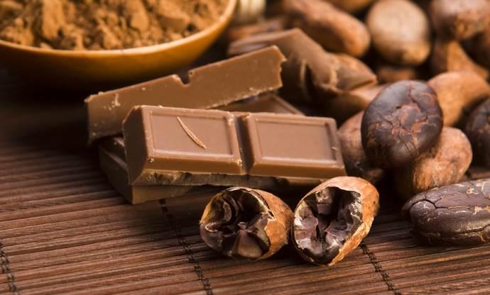 Состав шоколадной плитки