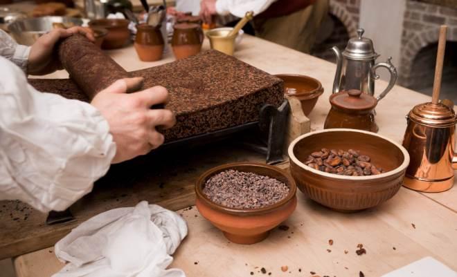 Реконструкция производства шоколада