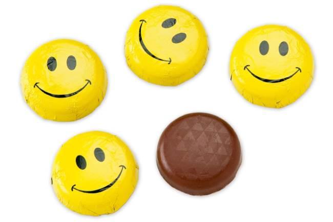 Шоколадные смайлы