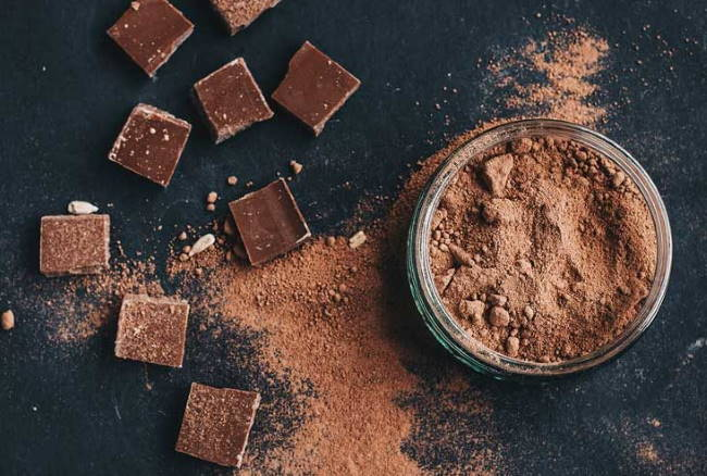 Какао и шоколадные плитки